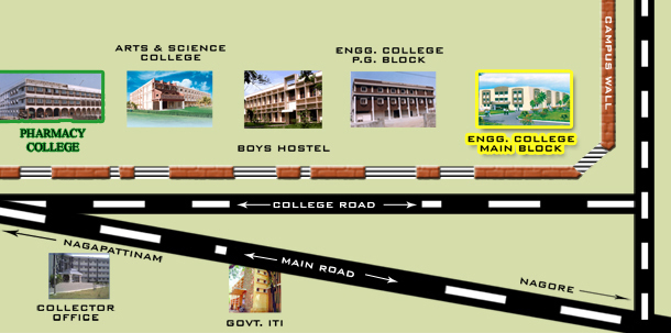 EGSPillay College Of Pharmacy - College of pharmacy us map